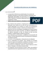 PROCESO DE ORGANIZACIÓN ESPACIAL DE FORMOSA