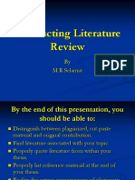 conducting literature review1.ppt