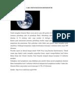 Cara Mengukur Diameter Bumi