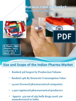Pharma Industry Trends 4 MNCs vs Indian Cos