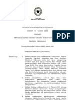 UU 45 2009 Ttg Perikanan