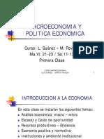 Capitulo 0 Introduccion a La Economia