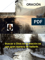 Oración - M.María