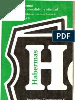 J Habermas Escritos Sobre Moralidad y Eticidad