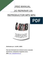 Manual Reparacion Reproductor Mp3 y Mp4