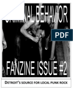 Criminal Behavior Fanzine, Issue 2