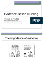 2007 Fall - Nursing 305 - Evidence Based Nursing Presentation