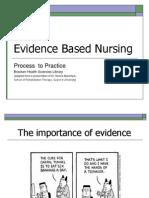2007 Fall - Nursing 305 - Evidence Based Nursing Presentation