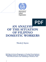 ILO - An Analysis on the Situation of Filipino Domestic Workers