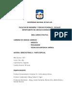 Programa Actualizado Derecho Penal II