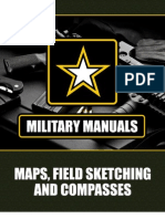 Military Training Manual - MAPS, FIELD SKETCHING AND COMPASSES