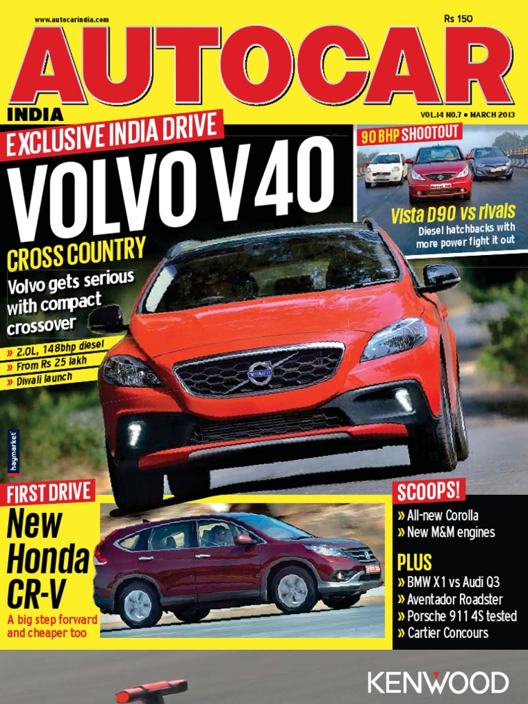 Autocar India 2013-03 | Luxury Vehicles | Sport Utility Vehicle