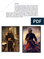 Biografía de Emanuel Kant