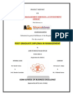 23884026 Reoprt on Portfolio Management Services by Sharekhan Stock Broking Limited (Repaired)