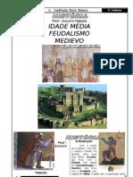 3 Cadernão 1o Ano 3 - Idade Media Feudalismo - Dom Bosco