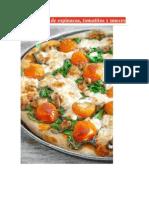 Pizza Casera de Espinacas