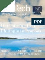ExTech International Business Proposition