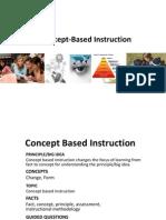 Concept Based Presentation