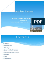 Feasibility Report 13