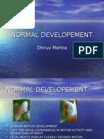Normal Developement