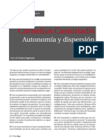 Castoriadis Autonomia y Disperción