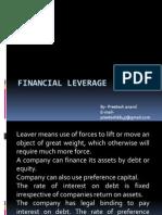 22 22 Financial Leverage
