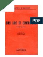 Langue Française Lecture Courante CE1 Bien Lire et Comprendre Bonmati Michel