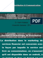 MARKETING ET STRATEGIE DE LA BANQUE  Ch 4