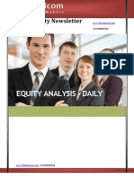 DAILY EQUITY NEWS LETTER 18April2013