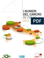 I Numeri Del Cancro 2012