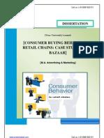 Dissertation for Marketing