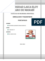 Portafolio Simulacion y Transporte