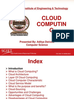 Cloud Computing | Cloud Computing | Software As A Service