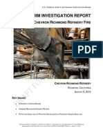 Draft Report for Public Comment -Chevron Richmond Refinery Fire