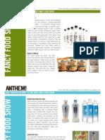 Anthem Fancy Food Show Insights