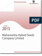 Maharashtra Hybrid Seeds Company Limited Expanding Indian Agriculture to Different Nations