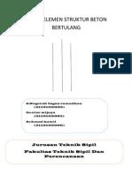 Tugas Elemen Struktur Beton Bertulan1