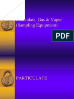 Particulate Sampling 1