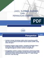 1 Klasifikasi Energi