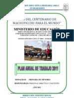 Plan Anual de Trabajo 2011