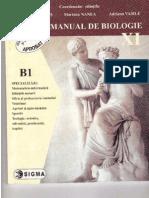 Manual Biologie Clasa XI