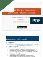 Sesion 1 - Derivados Financieros