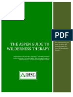 The Aspen Guide to Wilderness Therapy