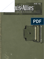 Axis and Allies Miniatures Rulebook