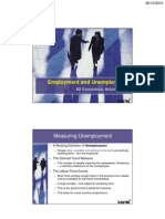 Causes of Unemployment