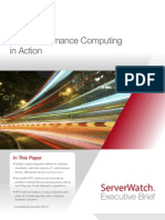 HP ServerWatch - High-Performance Computing in Action