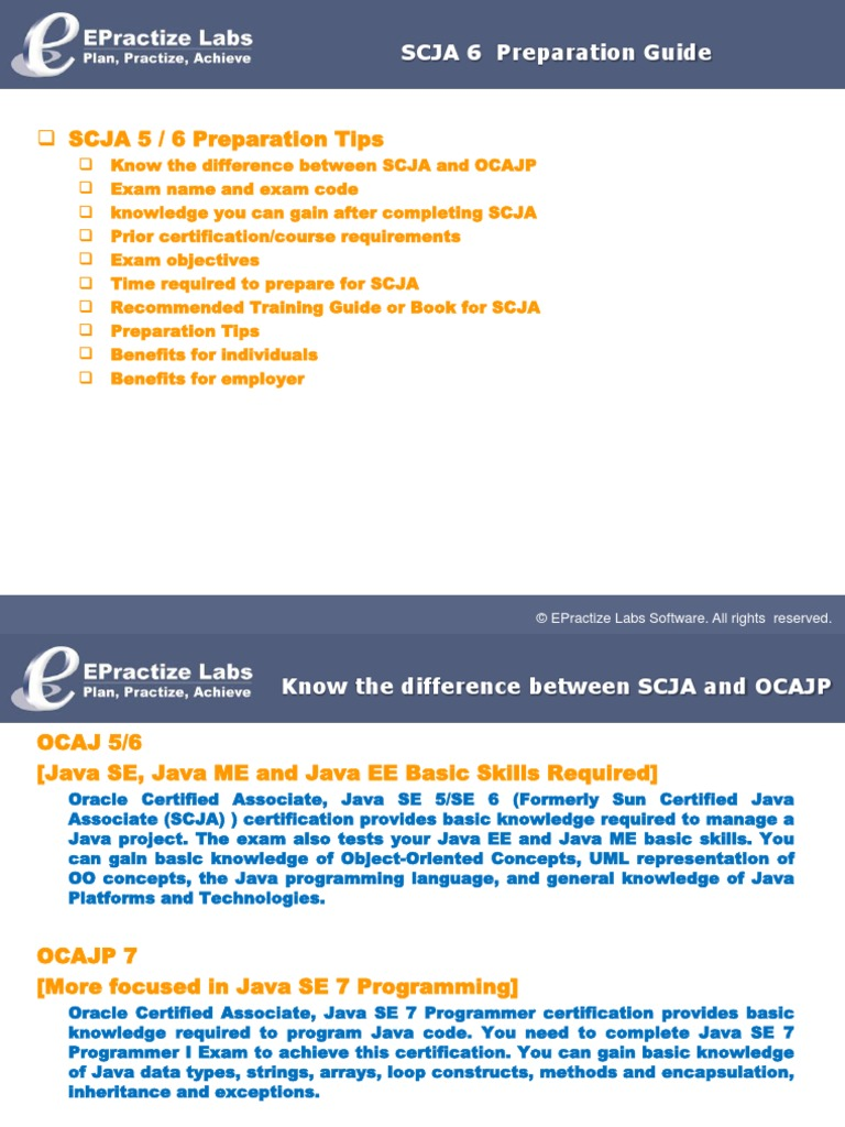 Scja 6 Preparation Guide Computer Engineering Information
