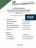 Cod CR6 Zidarie