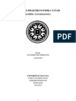 laporan Praktikum Fisika Tanah