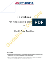 Guidelines for the Design and Construction of Health Care Facilities